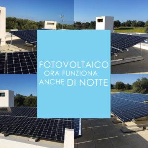 Fotovoltaico anche di notte Enersistemi