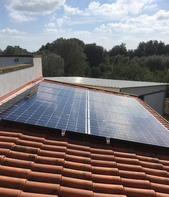 Impianti fotovoltaici tett ostuni