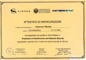 Sicurezza Infrastrutture e Reti